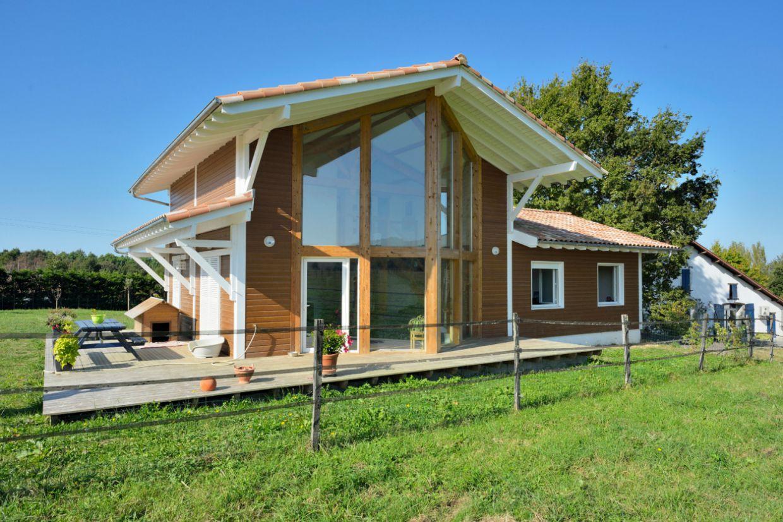 maison ossature bois bioclimatique ventana blog. Black Bedroom Furniture Sets. Home Design Ideas