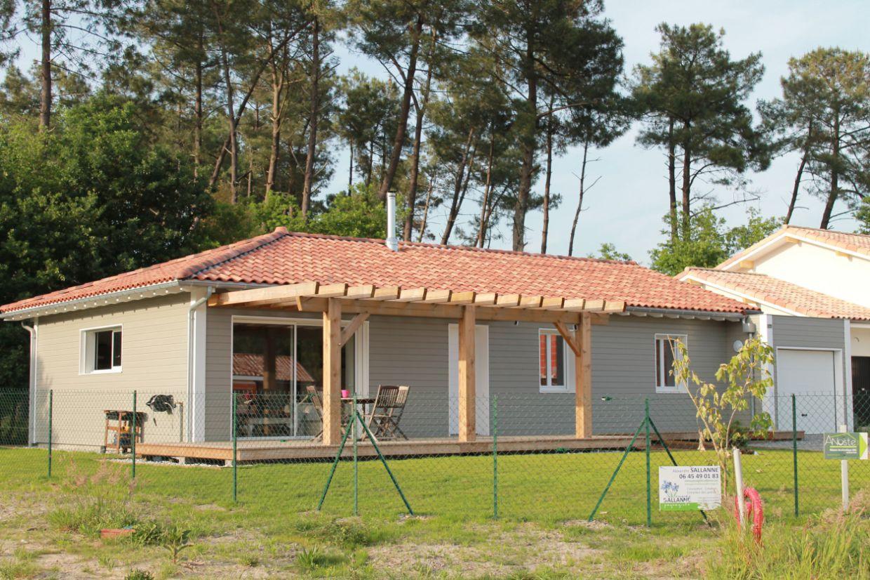 Maison ossature bois landes ventana blog for Constructeur maison landes 40